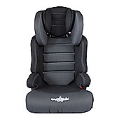 Cozy N Safe Group 2/3 Car Seat Black/Grey With Cup Holders