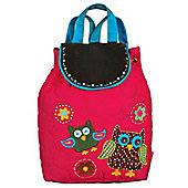 Children's Pink Owl Signature Backpack
