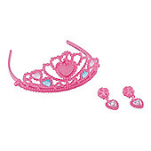 ELC Tiara and Earrings Set