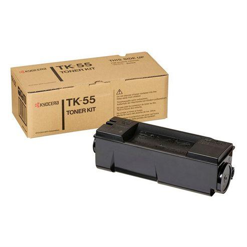 Kyocera TK-55 Black (15,000 Pages) Toner Cassette for FS-1920