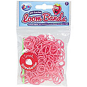 Jacks Strawberry Scented Bracelet Refill Pack - 300 Loom Bands