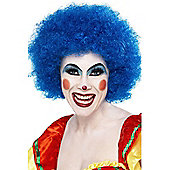Economy Clown Wig In Blue