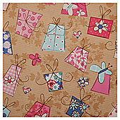 Tesco Presents Wrapping Paper, 2m