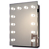 Hollywood Makeup Dressing Room Mirror with Dimmable LED lamps On Sale k90CW