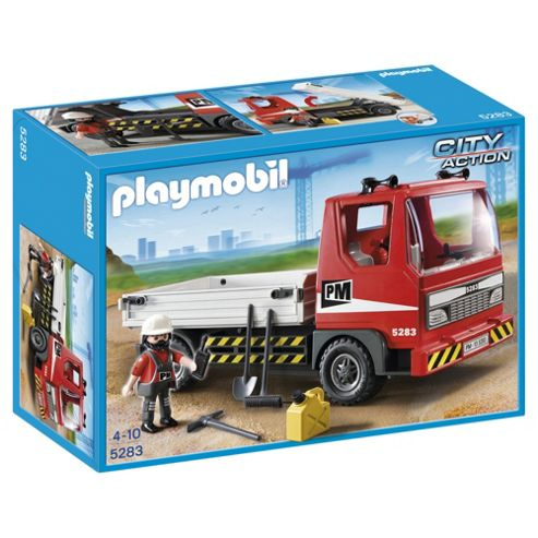 Playmobil City Action Flatbed Truck 5283
