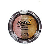 Nicka K Baked Terracotta Trio Eyeshadow-12 Sparkle Inca