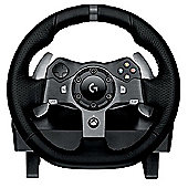 Logitech G920 Steering Wheel and Pedal Set for Xbox One and PC