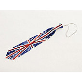 Bristol Novelty BA907 - Union Jack Sequin Long Tie