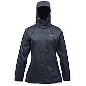 Regatta Ladies Pack It Waterproof Breathable Jacket - Navy