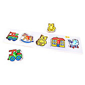 Bigjigs Toys BJ069c Lift and Match Puzzle Toys