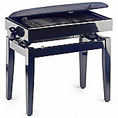 Stagg Adjustable Piano Stool with Storage