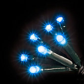 Battery Operated 200 Electric Blue Chaser Lights