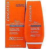 Lancaster Sun Delicate Skin Soothing Milk SPF50 125ml
