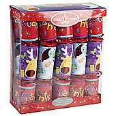 Family Christmas Crackers - 10 Pieces