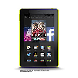 "Amazon Fire HD 7, 7"", Tablet, 16GB, WiFi - Yellow (2014)"