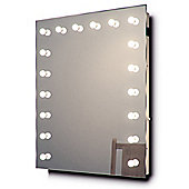 Hollywood Makeup Dressing Room Mirror with Cool White Dimmable LED lamps k92CW