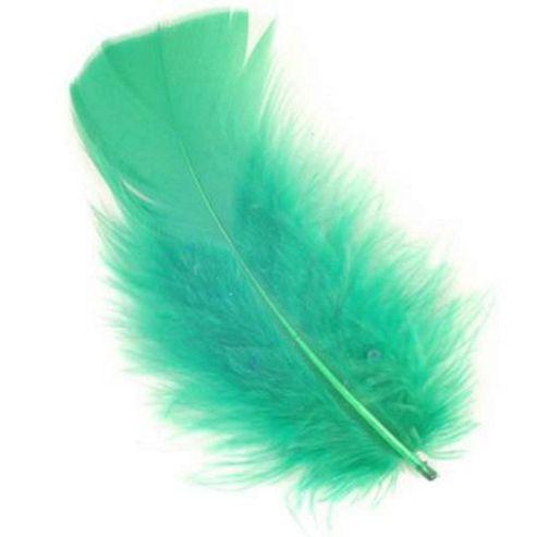 Feather Petals - Emerald