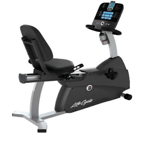 Life Fitness R1 Exercise Cycle with Track console
