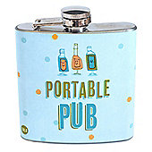 YOLO Stainless Steel Hip Flask, Portable Pub