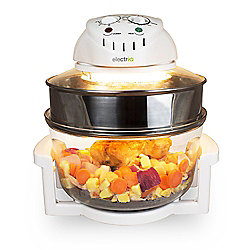 ElectriQ 17 Litre Premium Halogen Oven and full Accessories pack - HOV17