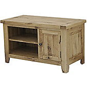 Rutland Solid American White Oak Tv Unit