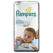 Pampers New Baby Sensitive Size 2 Essential Pack - 48 nappies