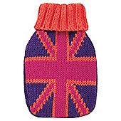 Mini Hottie Pink Union Jack Hand Warmer