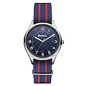 Bench Mens Fabric Fashion Watch - BC0425SLBL