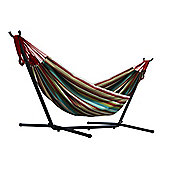 Vivere Double Hammock with Stand - Salsa