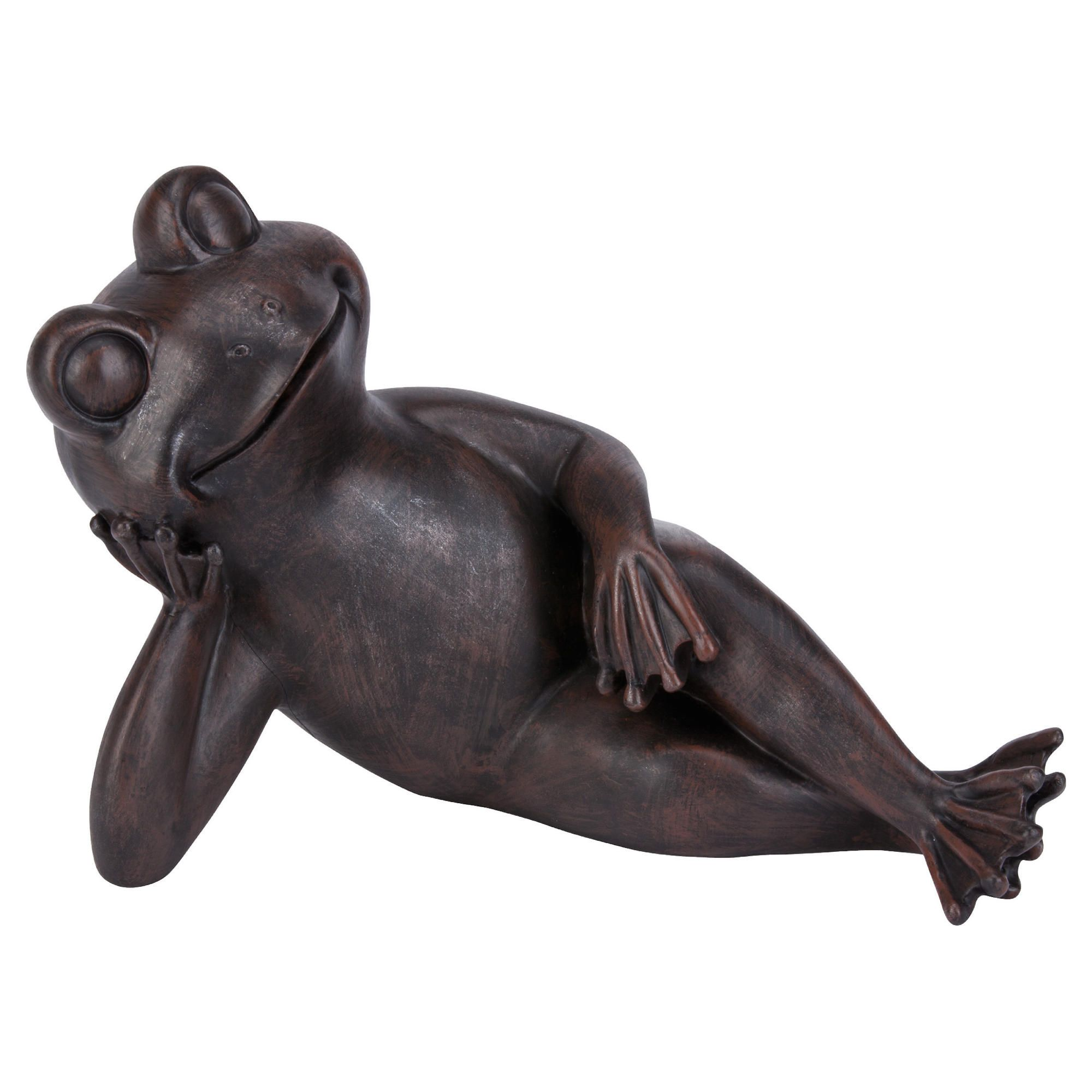 Lazy Frog Ornament