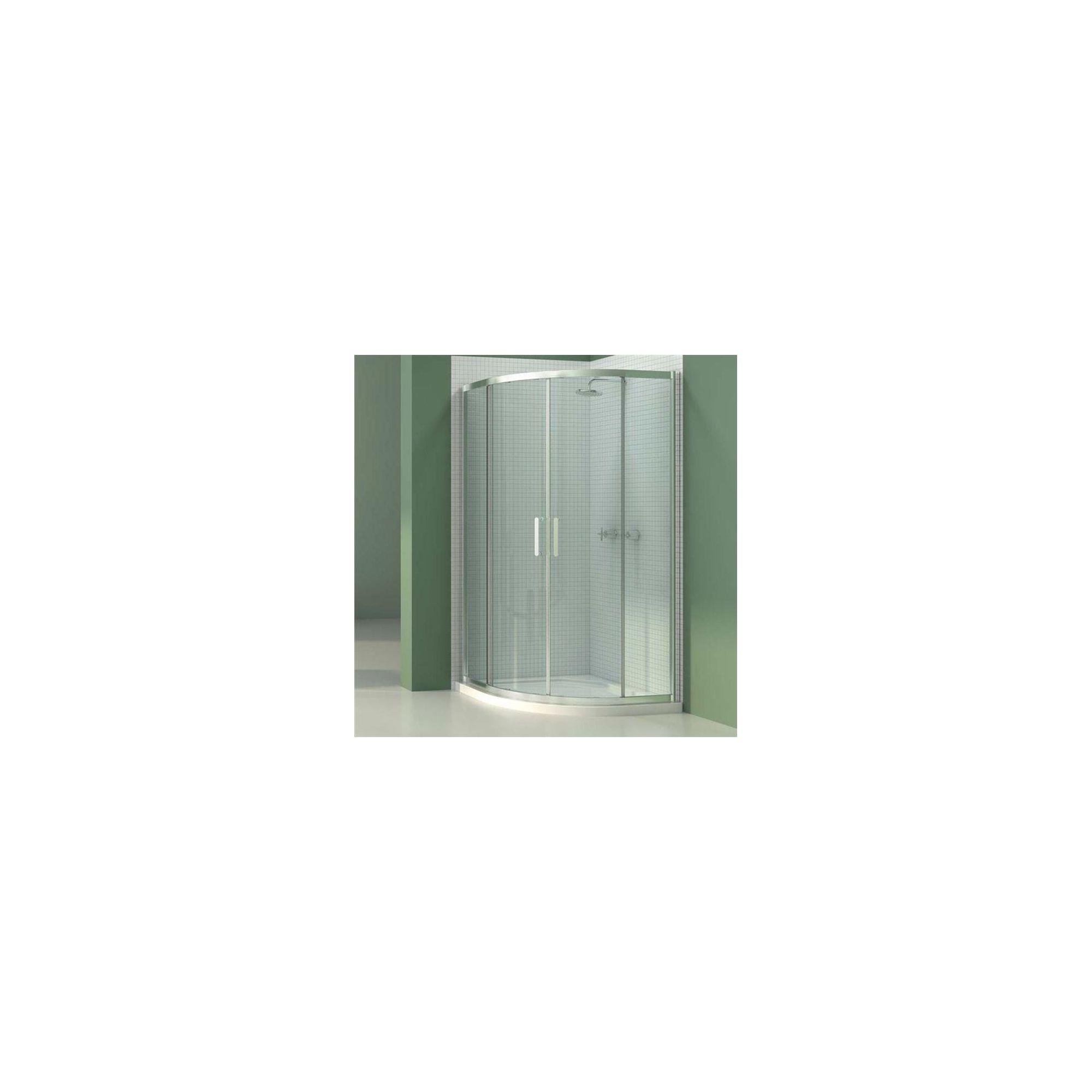 Merlyn Vivid Six Quadrant Shower Door, 800mm x 800mm, 6mm Glass at Tesco Direct