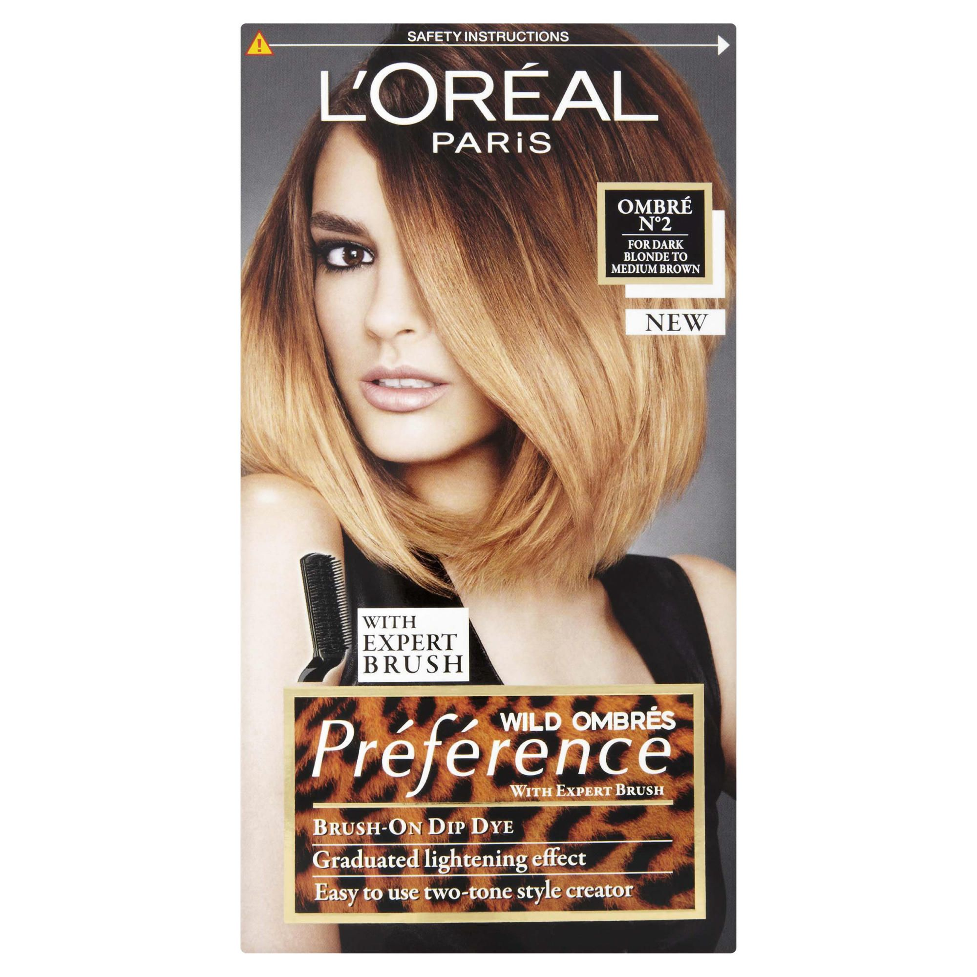 L'Oreal Preference Wild Ombre 2