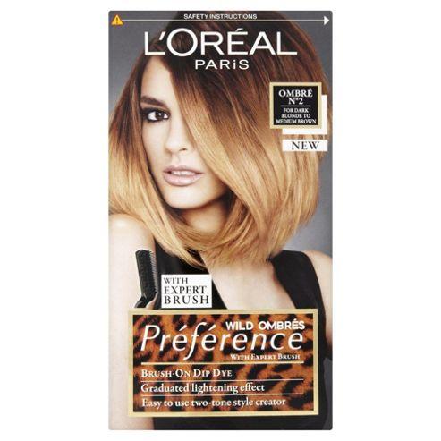 L'Oréal Préférence Wild Ombrés No2