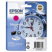 Epson Alarm Clock 27 DURABrite Ultra Ink Cartridge (Magenta)