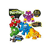 Mutant Pollutants Five Figure Pack