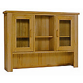 Kelburn Furniture Wiltshire Oak Glazed Top Unit