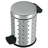 Hailo Trento Design 4 Pedal Cosmetics Bin in Stainless Steel