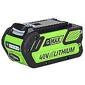 Greenworks 40V 2Ah Sanyo battery