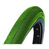 DSI 700 x 23c Coloured Fixie Race Tyre Green