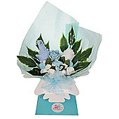 Blue Baby Boy Clothing Bouquet Gift