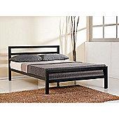 City Block Black 3FT Single 90cm Metal Bed Frame