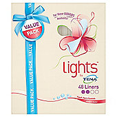 Lights By Tena Liners Duo - 48 Pack