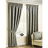 Morocco Pencil Pleat Curtains, Pewter 229x183cm