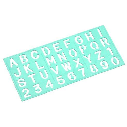 Linex Standard Lettering Stencil - 15mm