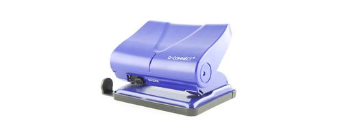 Q Connect Medium Duty Hole Punch Blue