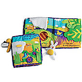 Sunny Day Activity Soft Baby Book by Manhattan 6m+