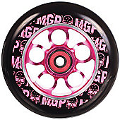 Madd Gear MGP Aero Skull 110mm Scooter Wheel Including Bearings - Pink