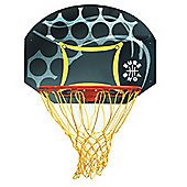 Sure Shot Junior basketball backboard and ring set with coloured backboard
