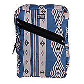 Converse All Star Diagonal Zip Backpack Bag - Blue