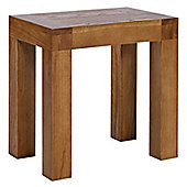 Rustic Grange Santana Rustic Oak Dressing Table Stool